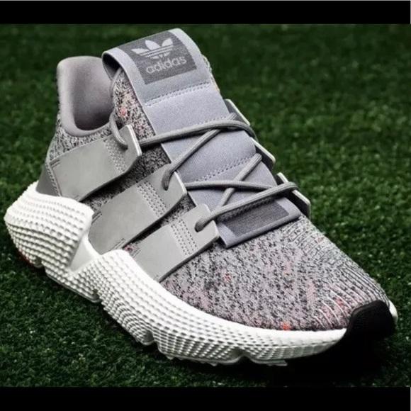 Adidas Originals Prophere GreyWhiteSolar Red en 2019